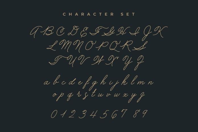 Mellow Line Script Font