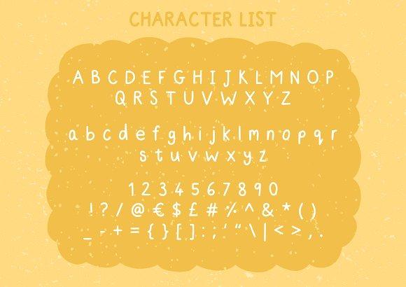 Nice - A Simple Handwriting Font
