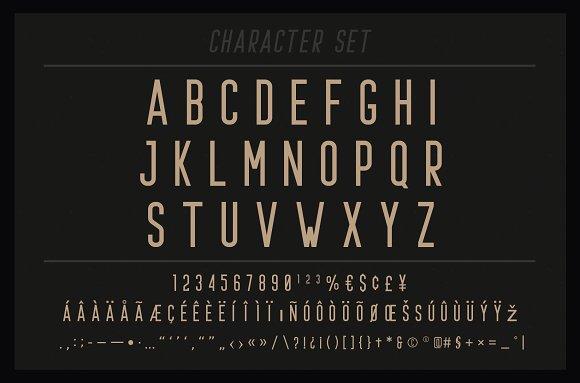 Prestage Font Family