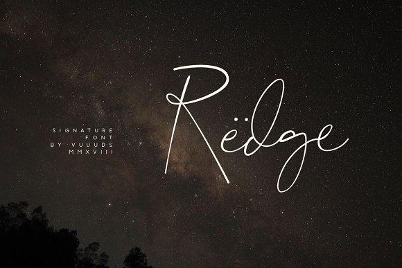 Redge Font