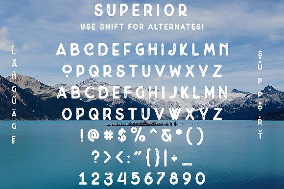 Superior Font Bundle