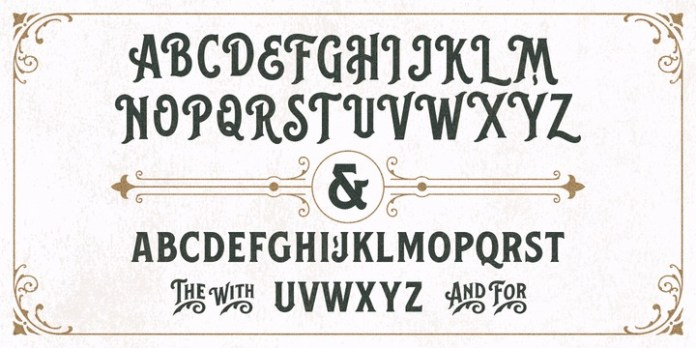 Balford Font Family