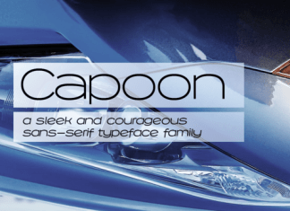 Capoon Font Family