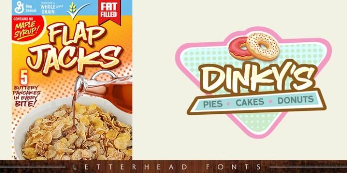 LHF Comic Caps 2 Font Family
