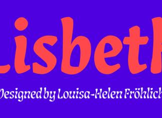 Lisbeth Font Family