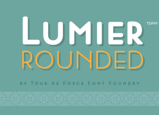 Lumier Rounded Font Family