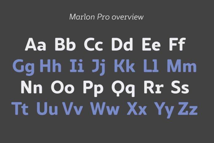 Marlon Pro Family