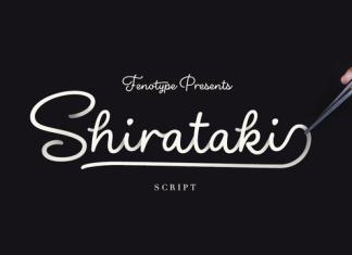Shirataki Font - Retail