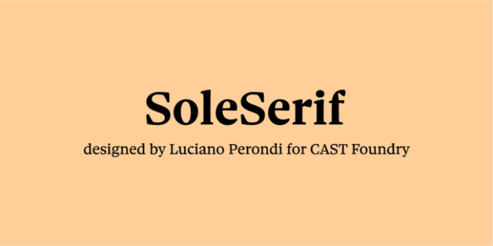Sole Serif Font Family