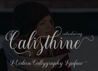 Calisthine Script Font
