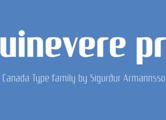 Guinevere Pro Font Family