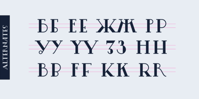 Lansere Font