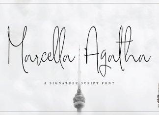 Marcella Agatha Script Font