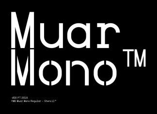 Muar Mono Font Family