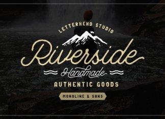 Riverside Typeface