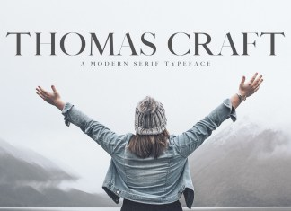 Thomas Craft Typeface