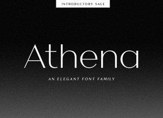 Athena - An Elegant Sans Serif
