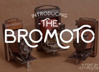 Bromoto Font Family