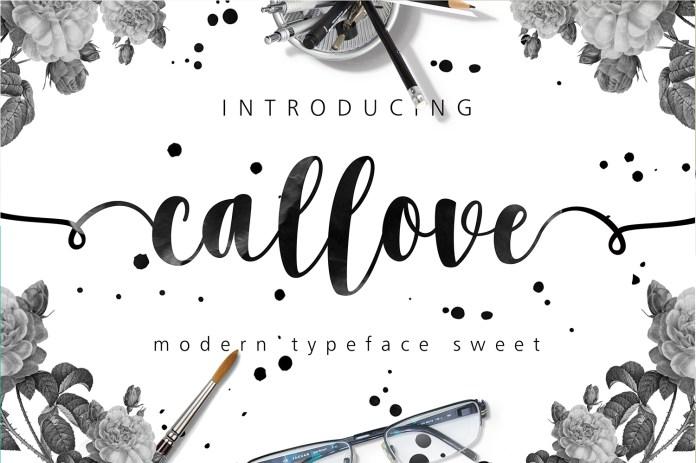 Callove Script Font