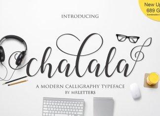 Chalala Script Font
