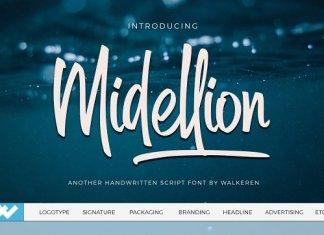 CM - Midellion Script Font