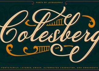 Colesberg Script Font