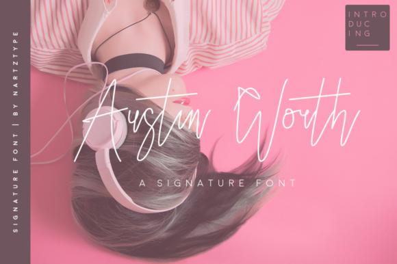 Creativefabrica - Austin Worth