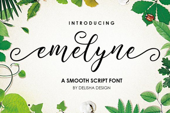 Emelyne Script Font