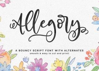 Fontbundles - Allegory Font