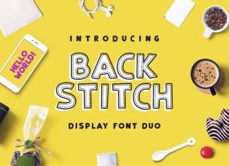 Fontbundles - Back Stitch