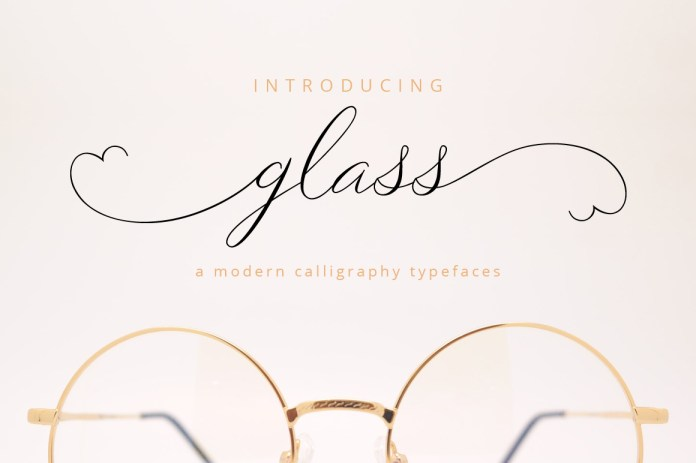 Fontbundles - Glass Script