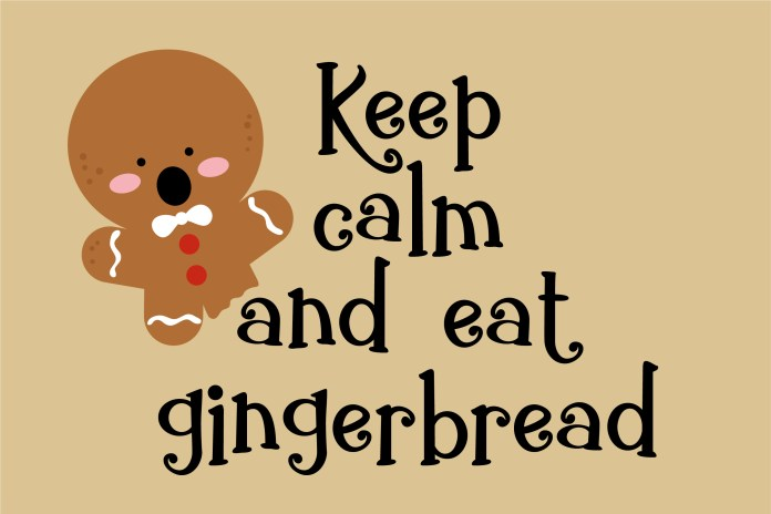 Fontbundles - ZP Gingerbread Cake