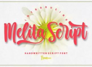 Melita Script Font