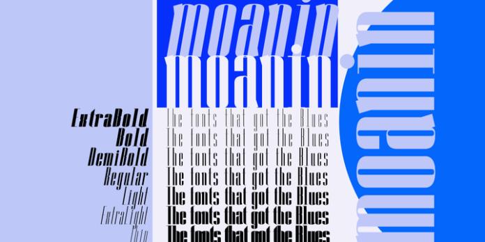 Moanin Font Family