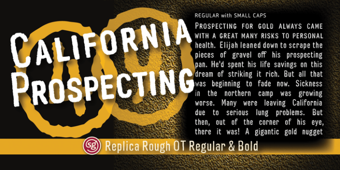 Replica Rough SG™ Font Family