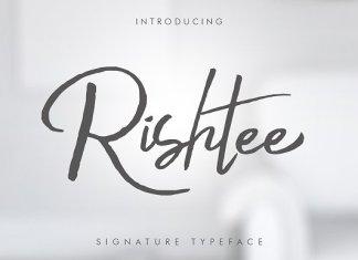 Rishtee Signature Font Family