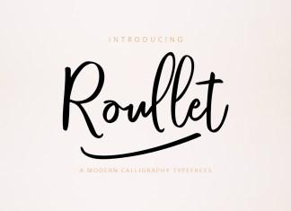 Roullet Fonts