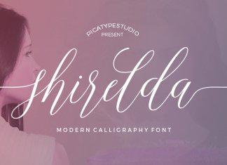 Shirelda Script Font