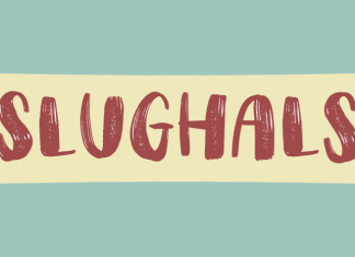 Slughals Font Script