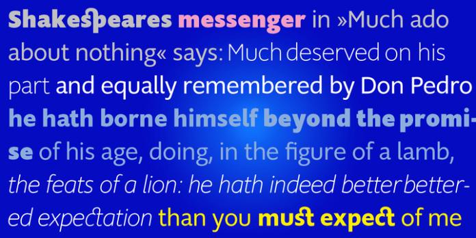 Supra Mezzo Font