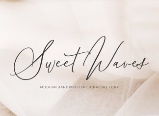 Sweet Waves - Luxury Handwritten