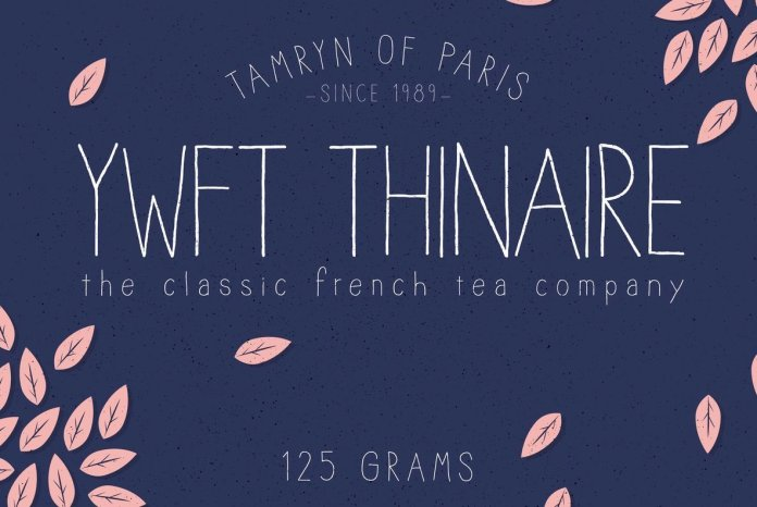 YWFT Thinaire Font Script