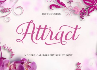 Attract Font