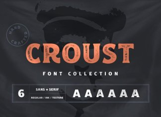 Croust Font Collection