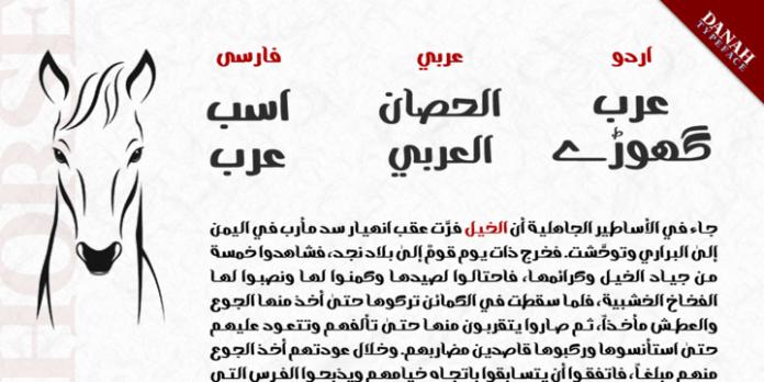Danah  Script Font