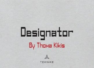 Designator Font Family