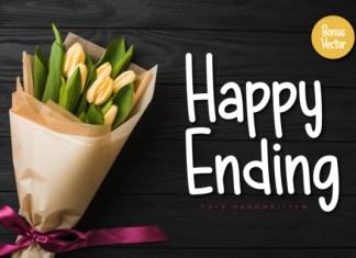 Happy Ending Font Script
