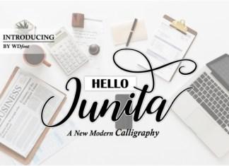 Hello Junita Font