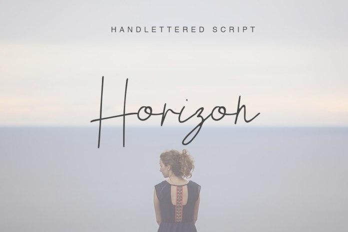 Horizon Script Font