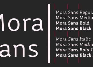 Mora Sans Font